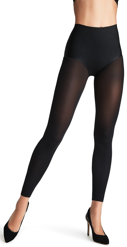 decoy Decoy microfiber leggings 3d, sort, 60 denier - str. xl på shopwithsocks